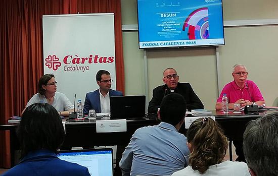 Informe FOESSA sobre exclusió i desenvolupament social a Catalunya